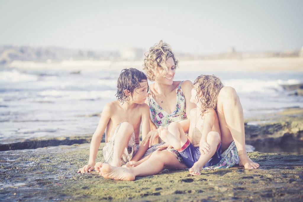 צילומי ילדים בטבע ובים