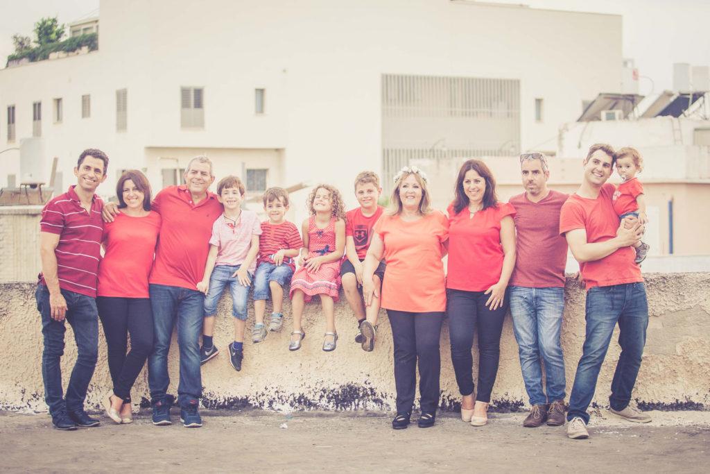 צילומים בסטודיו משפחה וילדים
