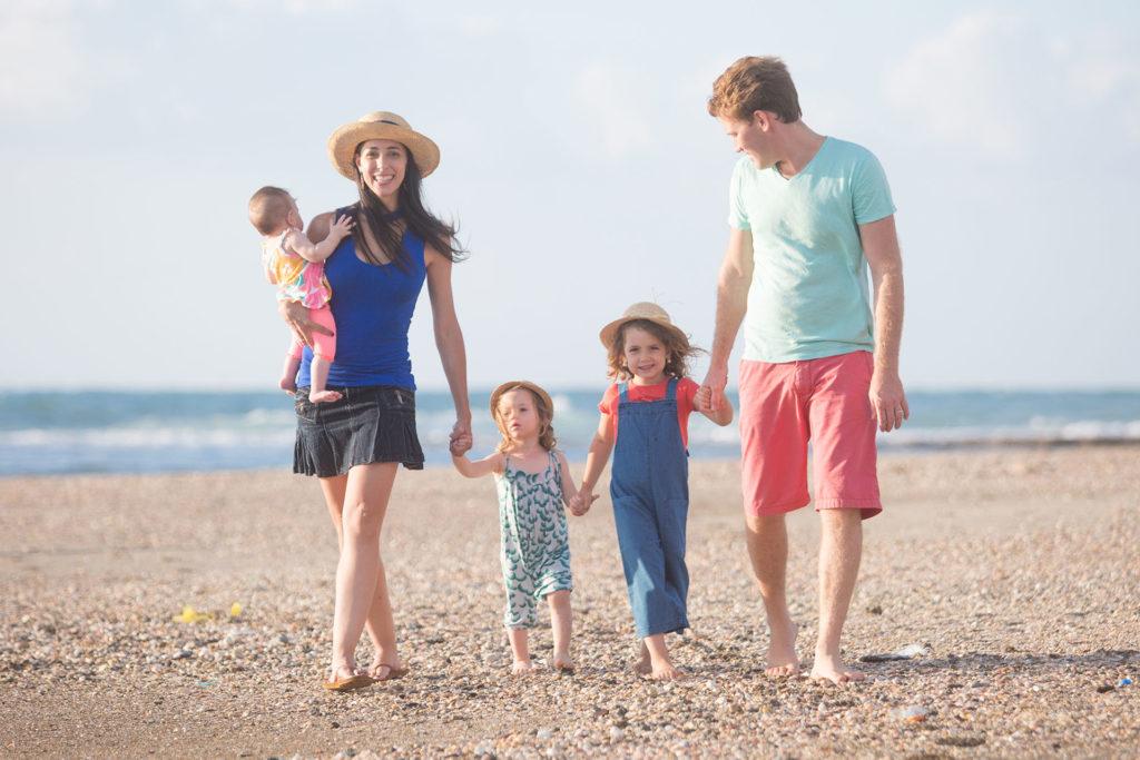 צילומים משפחתיים בים