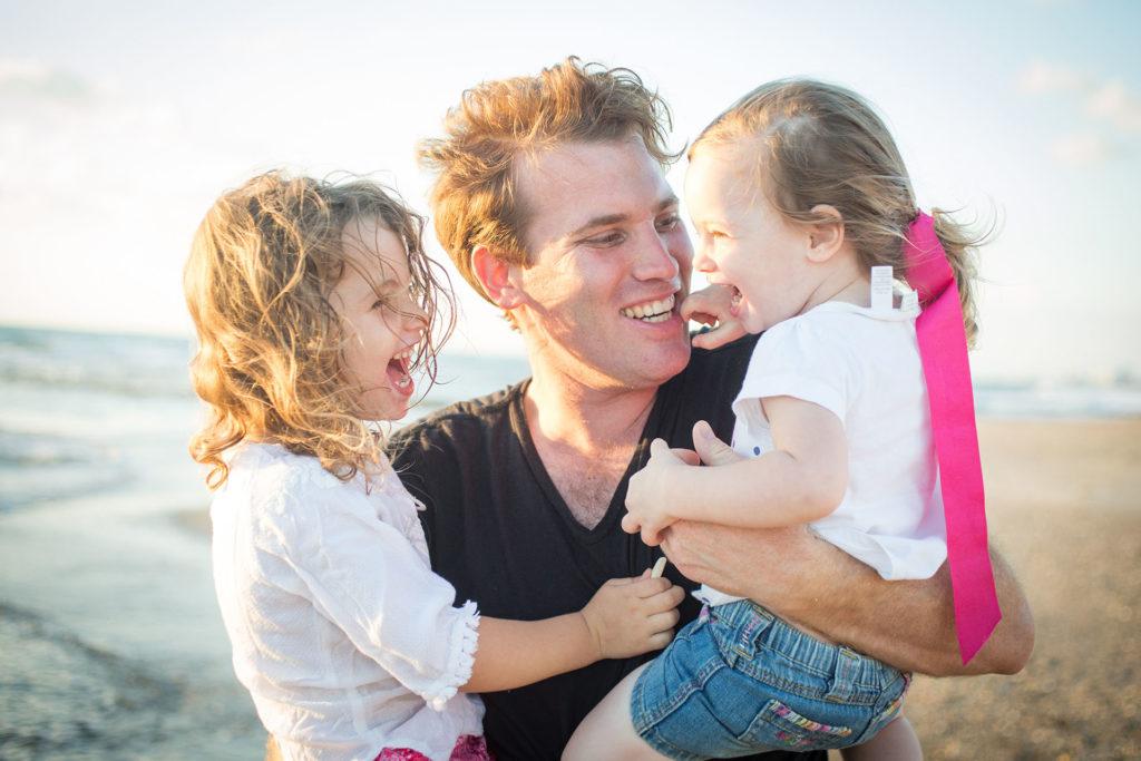 צילומי משפחה וילדים בים