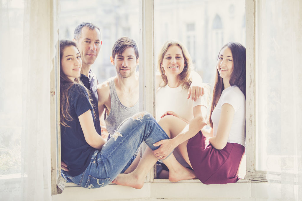 צילומי משפחה בסטודיו מיוחד