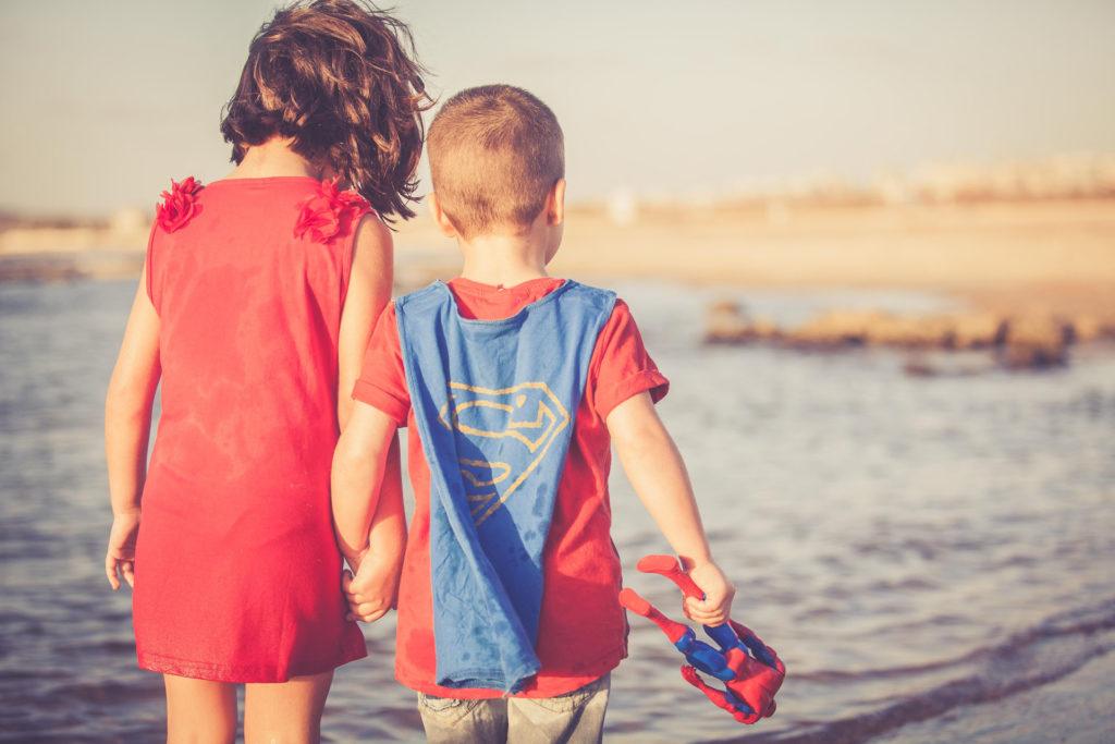 צילומים ילדים בים