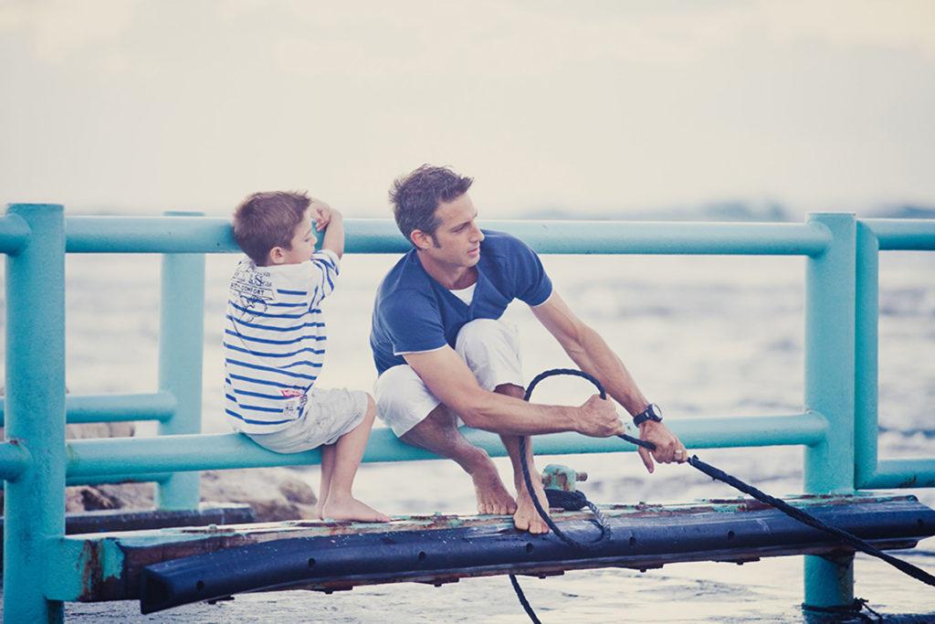 צילומי ילדים בים